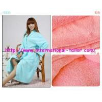 Quality The Latest Coral Velvet Robe for sale