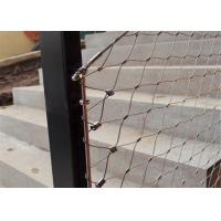 China Stainless Steel X-Tend Wire Rope Mesh,Rope Netting,Wire Mesh Nets on sale
