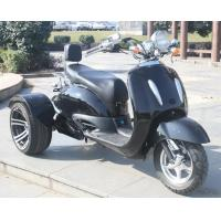 Quality 1000w Electric Moped Bike , 3 Wheel Scooter Motorcycles With Brushless Motor for sale