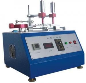 China Ethanol / Eraser / Pencil Abrasion Tester , Abrasion Testing Machine , Abrasion Testing Equipment on sale