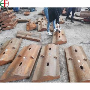 Quality High Chrome Manganese Alloy Cement Mill Shell Liners Plate Wear Parts for sale