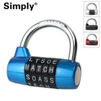 Quality Waterproof Anti - Theft High Security Combination Padlock Clothes Locker Use for sale