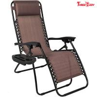 Adjustable Pool Outdoor Patio Lounge Chairs Brown UV Resistant 38 X 26 X 9.5 Inches