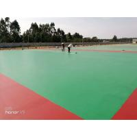 Quality Corrosion Resistant PU Sports Flooring For Outdoor , Indoor , Tennis for sale