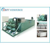 Buy cheap Evaporative / Air / Water Cooled Ice Machine , Automatic Ice Machine Large from wholesalers