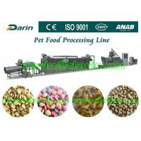 Automatic Pet Food Extruder Machine for dog , cat , fish