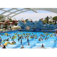 Quality Excited Water Park Surfing Wave Pool , Wave Height 0.3 ~ 1.0m for sale