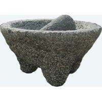 China granite mortar and pestle on sale