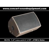 """Quality 475W Disco Sound Equipment 1.4"""" + 15"""" Stage Monitor , Full Range Speaker For Installation for sale"""