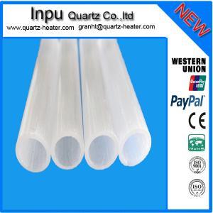 China Opaque(Milky white ) quartz tube on sale