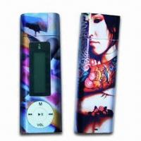 Quality LCD Display MP3 Players with FM Radio, Sized 84.7 x 29.4 x 12.6mm for sale