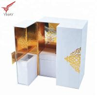 Quality Soft Touch Paper Perfume Cosmetic Packaging Box High end Luxury Perfume Box for sale