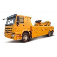 Buy cheap Durable Hydraulic Highway / Road Accident Wrecker Tow Truck With Crane Arm from wholesalers