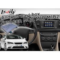 Quality 6.5 / 8 Inches Android Navigation Box , Car Video Interface For Seat Leon MQB MIB MIB2 for sale