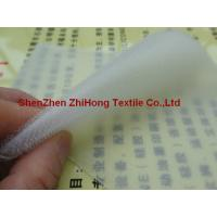 Quality Clear un-brushed/ ( un-napped) loop nylon fastener for sale