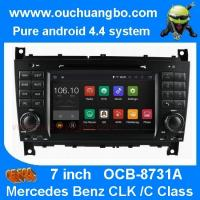 Quality Ouchuangbo Mercedes Benz W203  CLK W209 audio dvd gps radio support 1024*600 BT SD 3G for sale