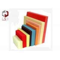 Quality Red Yellow Blue Foam Sheet Sponge Packing Material Customized for sale