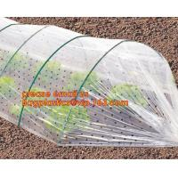 China high light transmittance solar control seeding nursery greenhouse covers,100% virgin LDPE protective single layer cucumb on sale