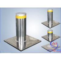 Quality Custom Manual Hydraulic Security Bollards , Stainless Steel Automatic Road Blocker for sale