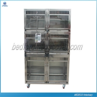 China Medeco Stainless steel pet display foster cage Mezs-02 Dog& Cat Cage on sale