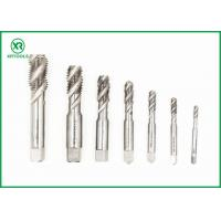 Quality High Speed Spiral Flute Machine Tap , Blind Holes Thread Cutting Taps for sale