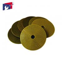 China Multipurpose Diamond Polishing Pads For Marble , 3 Inch Polishing Pads on sale