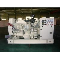 China 30kva Cummins Marine Diesel Generator, 30KW - 1000KW, 3 Phase on sale