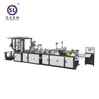 Full automatic zip lock bag making machine double lines sealing knife and bottom sealing knife