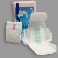 Quality 290mm 330mm Lightweight Regular Green Anion Chip Sanitary Pad for sale