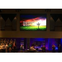 China Terrific Visual Effect Silent Stage Backdrop Video Wall Led Church Screen on sale