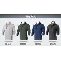 Quality Wholesale fashion cheap mens cotton high neck t shirts with long sleeve for sale