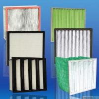 China 99.999% High Efficiency And Capacity Aluminum pleated Hepa for HVAC industry filter on sale
