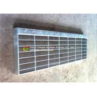 Quality T1 / T2 Steel Stair Treads Grating Wear - Resistant Preventing Dirt Deposition for sale