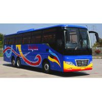 Quality LHD/RHD 65 seats Euro2 360HP 6x2 Coach Bus with Cummins Engine YBL6137T for Mozambique for sale