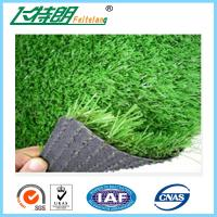 Quality Plastic Monofilament Artificial Turf Grass Flat Shape Fastness Wear Resistance for sale