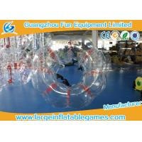 Quality Heat Sealed Transparent Pvc Inflatable Bubble Ball 2 Years Warranty for sale