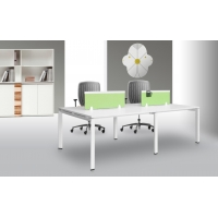 Quality Cold Rolled Steel 25mm MDF 0.15 CBM Office Table Desk for sale