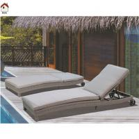 China outdoor rattan lounge chair with cushion RMS-0012 on sale