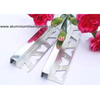 Buy cheap 10mm Bathroom Polished Chrome Square Edge Tile Trim For Exterior Corner from wholesalers