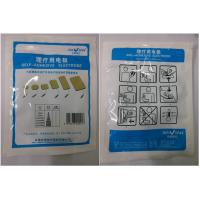 Quality Physiotherapy Adhesive Reusable Electrode Pads With Tyco Gel 50*100mm for sale