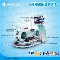 China 220V White Multiplayer Car Driving Simulator VR Motorcycle Racing Game on sale