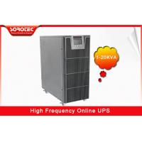Quality PF 0.9 1-20KVA High Frequency Online UPS , black uninterruptible power supplies for sale