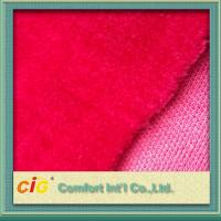 China Top Printing Jacquard Faux / Synthetic Fur Fabric Strong Fashion For Garment on sale