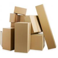 Buy cheap Kraft paper packaging box cardboard corrugated box product