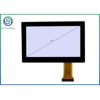 Quality ROHS 7 Inches Industrial Touch Screen For Touch Monitors With PCAP Projected Capacitive Touch Panel, USB Interface for sale