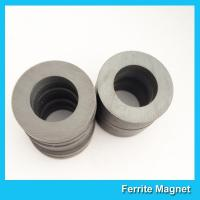 Quality Hard Ferrite Industrial Strength / Durable Round Ceramic Magnets for sale
