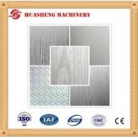 Buy cheap Pattern Hot Press Stainless Steel Press Plates MWD919 For Laminated Flooring from wholesalers