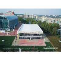 China Huge 20mx35m Aluminum Outdoor Tents With Heat Insulation For Meeting Or Events on sale