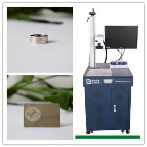 Buy cheap Non - Metal 10W Fiber Laser Marking Equipment For Concrete , Fiber Laser Marker product