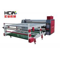 Quality Multicolor 1.9m Width Roll To Roll Heat Press Machine / Rotary Heat Press for sale